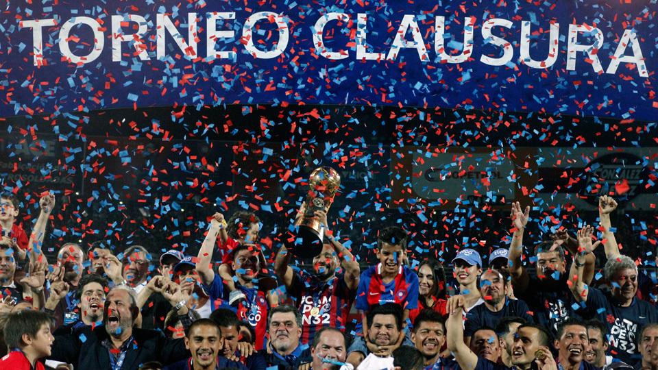 Cerro Porteño (Paraguai) - fase de grupos - campeão do Clausura do Paraguai