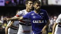 Sóbis não estará disponível para a próxima partida do Cruzeiro no Campeonato Brasileiro