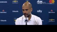Guardiola falou após acontecimentos na cidade