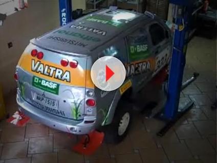VÍDEO: Véspera de viagem à Argentina, e carro está pronto