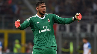 Goalkeeper of AC Milan, Gianluigi Donnarumma