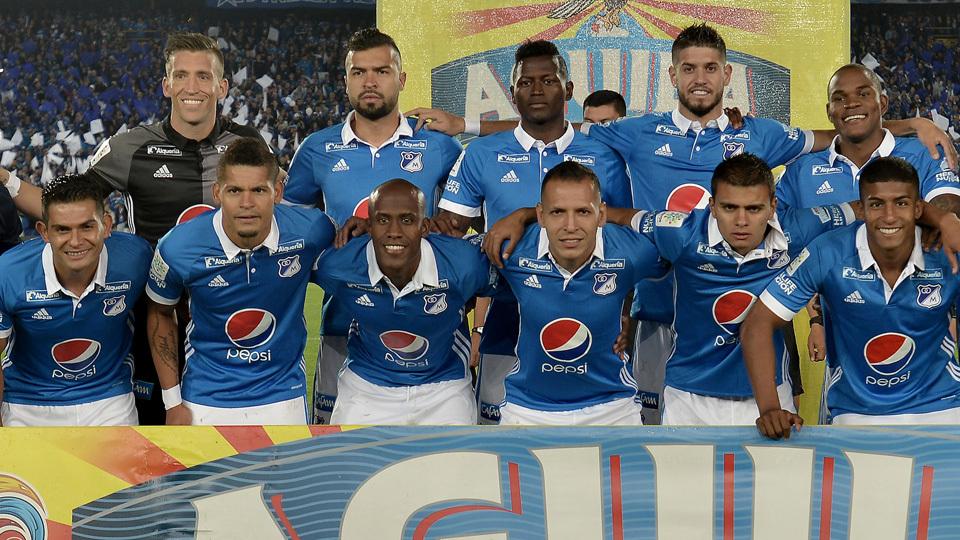 Millionarios (Colômbia) - fase de grupos ou 2ª fase de mata-mata - campeão do Finalización ou melhor colombiano não-campeão (final contra Santa Fe)