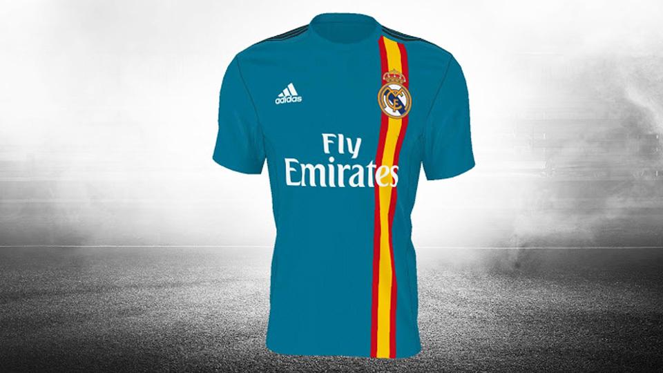 Camisa do Real Madrid que não foi aprovada 5b4161eea3342