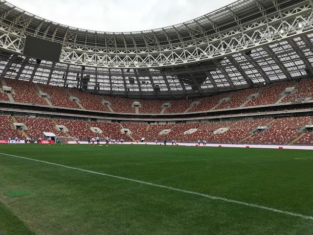 Capacidade do Luzhniki é para 81 mil torcedores