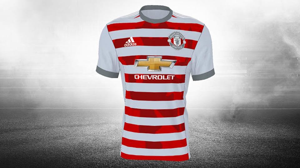Camisa do Manchester United que não foi aprovada 98edaf37bd9e5