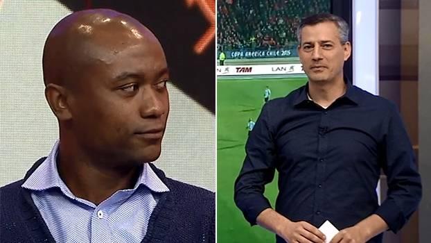 Kléber relembra expulsão na final do Campeonato Paulista de 2003; Salvio se explica