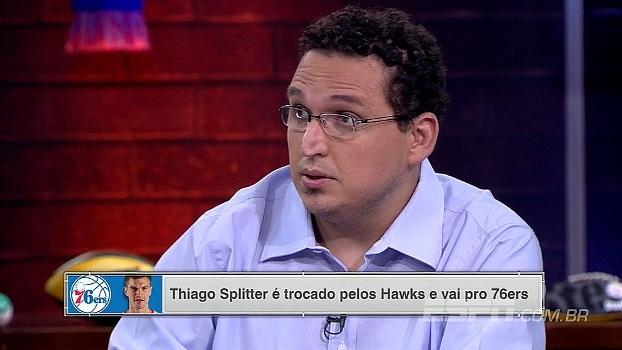Para Bulgarelli, 76ers devem dar suporte para Splitter continuar recuperação