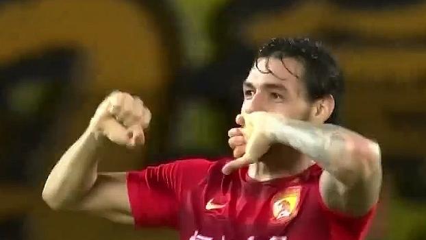 Ricardo Goulart e ex-Flu marcam, e Guangzhou Evergrande vence time de Pellegrini