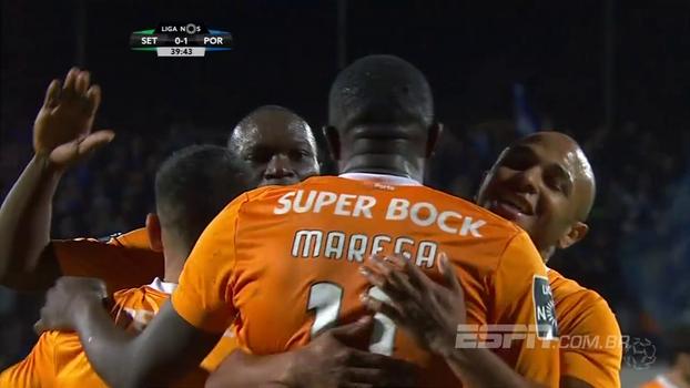Assista aos gols da vitória do Porto sobre o Vitória de Setúbal por 5 a 0!