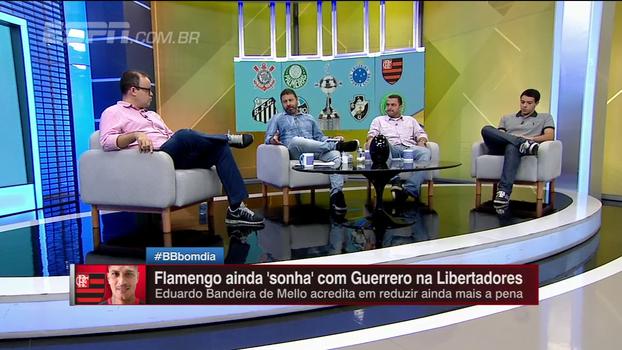 Marra e Zé Elias criticam julgamento de Guerrero após doping