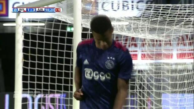 David Neres marca, Ajax vence Willem e pressiona o líder PSV no Holandês