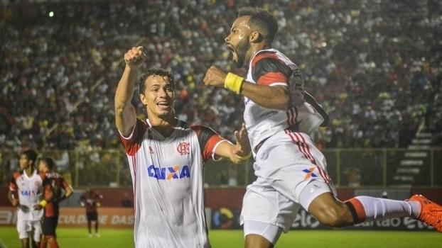 Brasileiro: Gols de Vitória 1 x 2 Flamengo