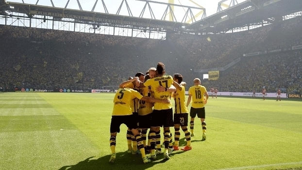 Alemão: Gols de Borussia Dortmund 2 x 1 Mainz