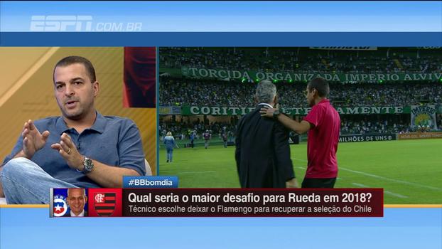 Zé Elias diz que atitude de Rueda cria 'imagem ruim de estrangeiros no futebol brasileiro'
