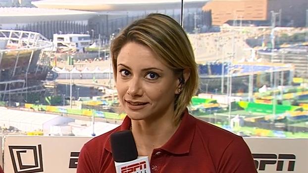 'Superação incrível': Flávia Delaroli analisa trajetória de Etiene Medeiros na Olimpíada