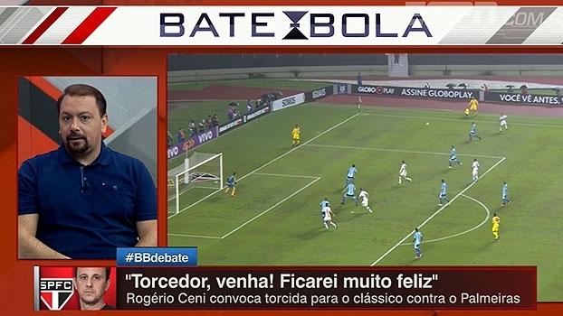 Alê fala em dois tempos distintos do São Paulo; Bertozzi defende Ceni: 'Cueva não estava produzindo'
