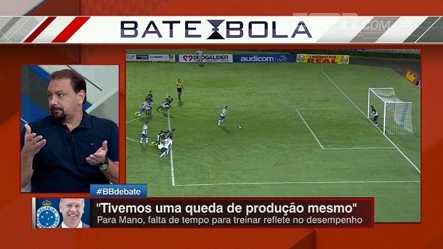 Alê vê com desconfiança o trabalho de Mano Menezes e analisa queda de rendimento da equipe