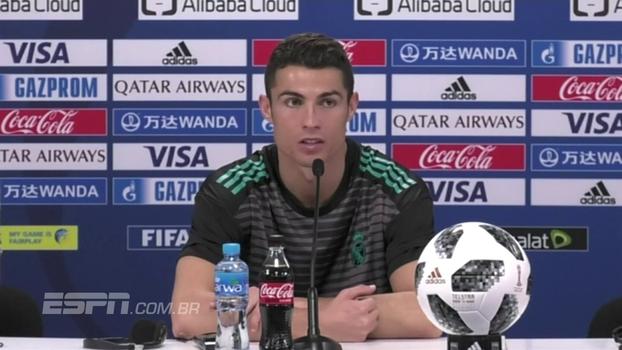 Cristiano Ronaldo revela desejo de se aposentar no Real, mas diz: 'Não depende de mim'