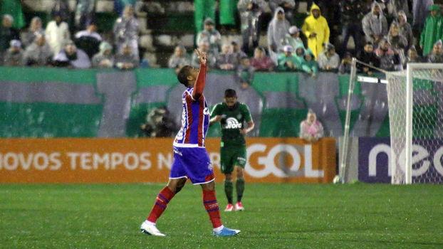 Brasileiro: Gols de Chapecoense 1 x 1 Bahia