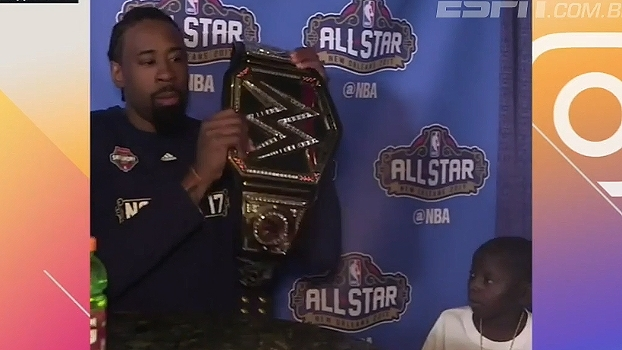 Fã de NBA ganha autógrafo de DeAndre Jordan e ainda tira sarro do pivô dos Clippers