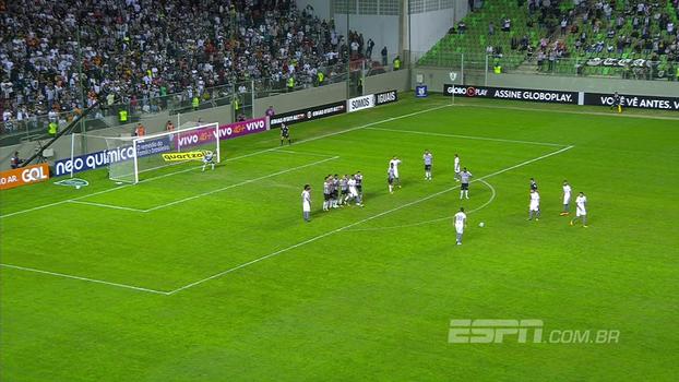Brasileiro: Gol de Atlético-MG 0 x 1 Santos