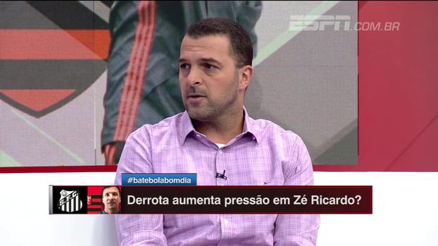 Zé Elias cita insistência de escolhas questionáveis de Zé Ricardo no Flamengo
