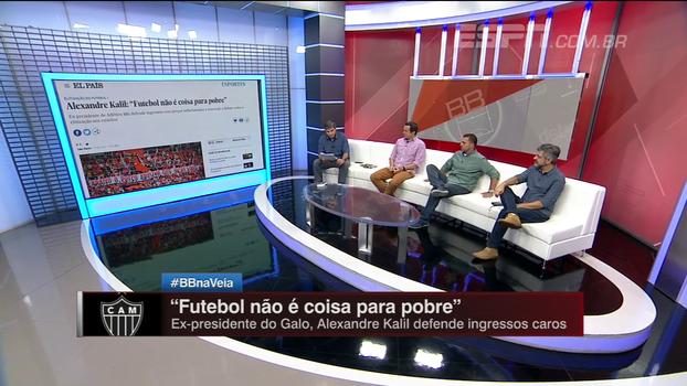Kalil diz que 'futebol não é coisa para pobre' e Gian Oddi rebate: 'Futebol é para todos'; veja a análise