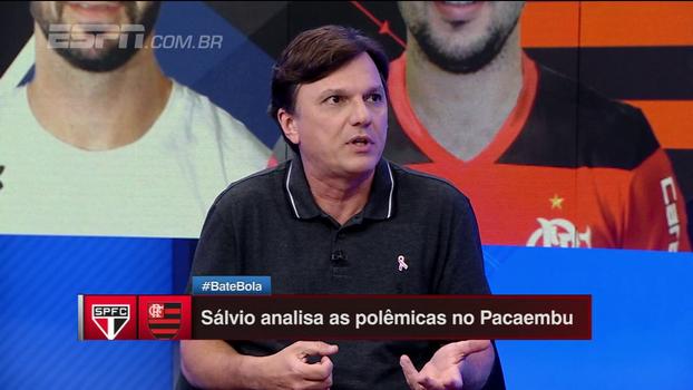 Mauro detona 'vexame' do Fla contra o São Paulo, desaprova escalação de Rueda e diz: 'É um elenco que não funciona mais'