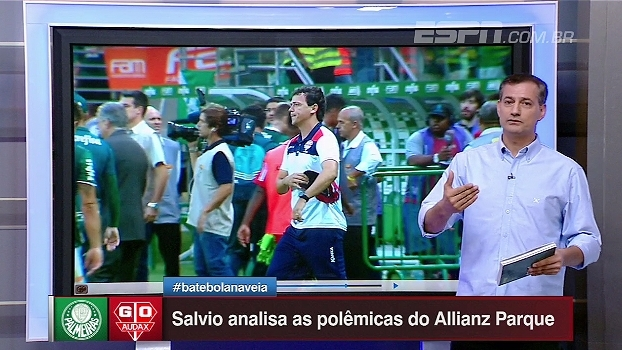 Mão junto ao corpo e falta de bom senso: Sálvio critica arbitragem de Palmeiras e Audax