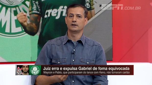 Sálvio diz que árbitro não foi boa escolha para Corinthians x Palmeiras: 'Tem deficiência grande'