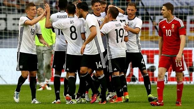 Amistoso Internacional: Melhores momentos de Alemanha 2 x 0 Hungria