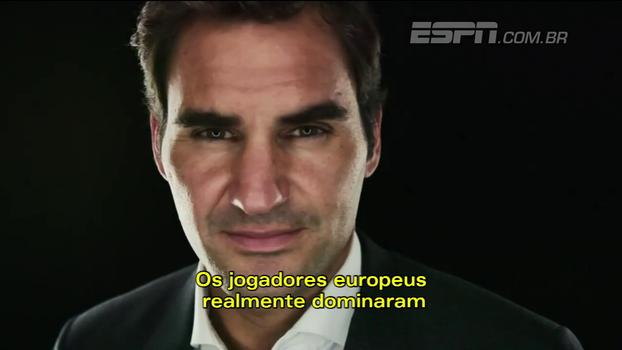 Laver Cup: 'Ter Rafael Nadal ao meu lado é uma alegria', diz Federer