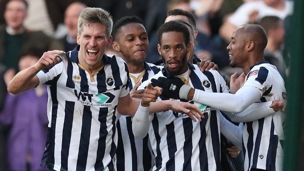 Copa da Inglaterra: Gol de Millwall 1 x 0 Leicester