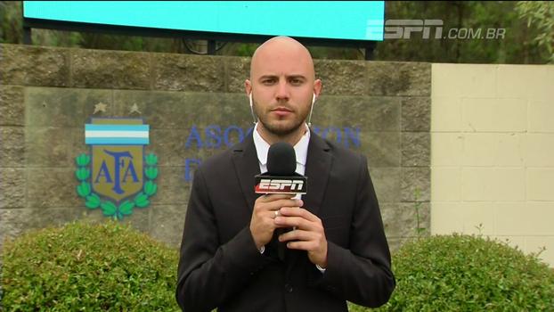 Da Argentina, repórter da ESPN mostra o clima antes da partida decisiva contra o Peru: 'O ambiente fala da tensão'