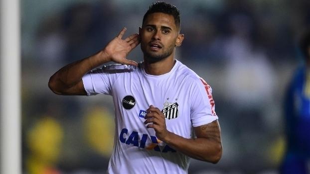 Brasileiro: Gol de Santos 1 x 0 Palmeiras