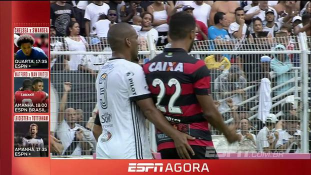 'Introduzido seu dedo médio entre as nádegas do adversário': veja como árbitro relatou expulsão de Rodrigo na súmula