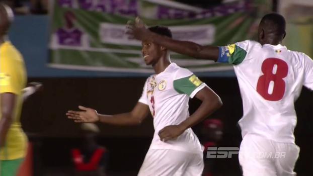 Assista aos gols da vitória de Senegal sobre a África do Sul por 2 a 1!