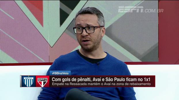 Maurício Barros analisa situação de goleiros no São Paulo: 'Eles se sucedem e o problema continua'