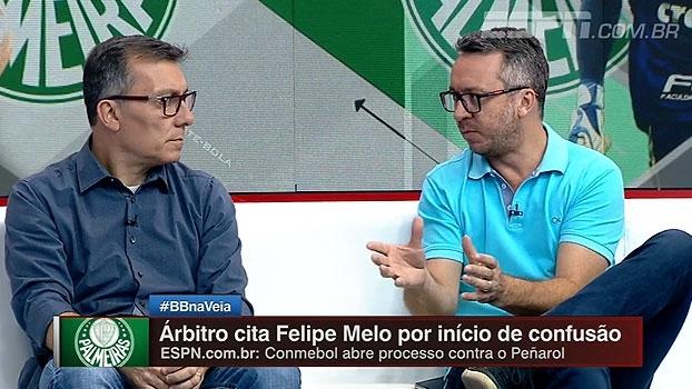 Mauricio Barros avalia confusão: 'Diretoria do Palmeiras já dá como certo gancho de Felipe Melo'