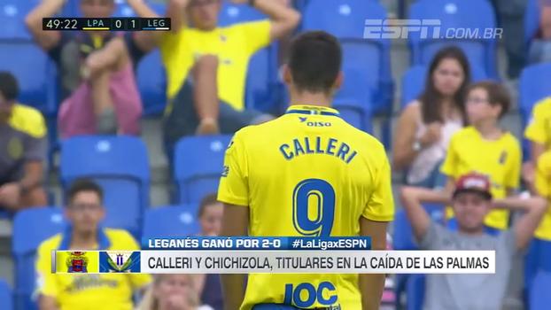 Com Calleri, Las Palmas perde em casa para o Leganés e cai para o 15º lugar
