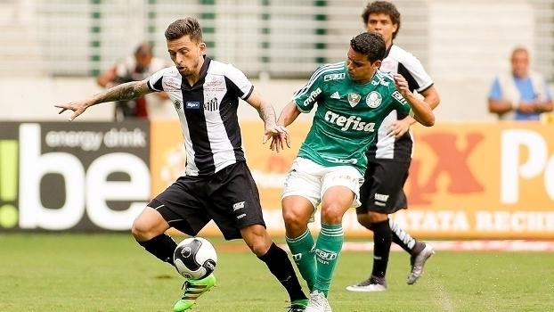 Resultado de imagem para Santos x Palmeiras 2016
