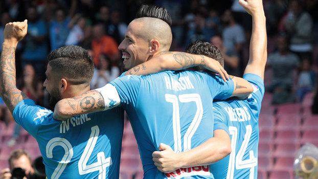Campeonato Italiano: Gols de Napoli 3 x 0 Cagliari