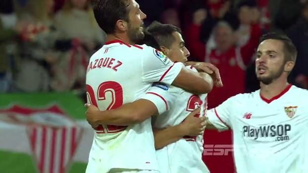 Assista aos melhores momentos de Sevilla 2 x 0 La Coruña