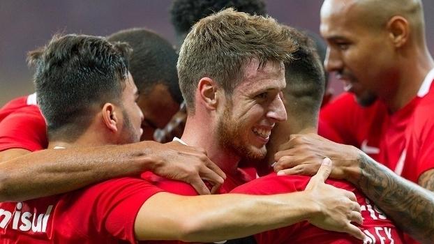 Copa do Brasil: Gols de Internacional 2 x 0 Santos