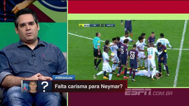 Neymar jogou como se tivesse um melão na cabeça  5f4b99a8567e7