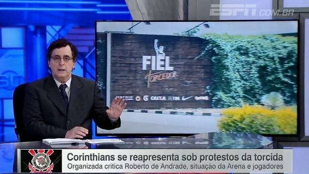 Antero faz alerta a torcedor do Corinthians: 'Tendência de ano de vacas magras'