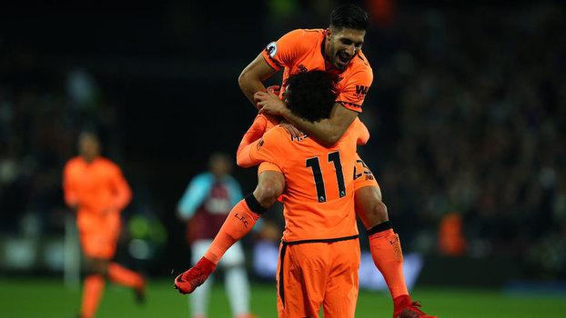 Premier League: Gols de West Ham 1 x 4 Liverpool