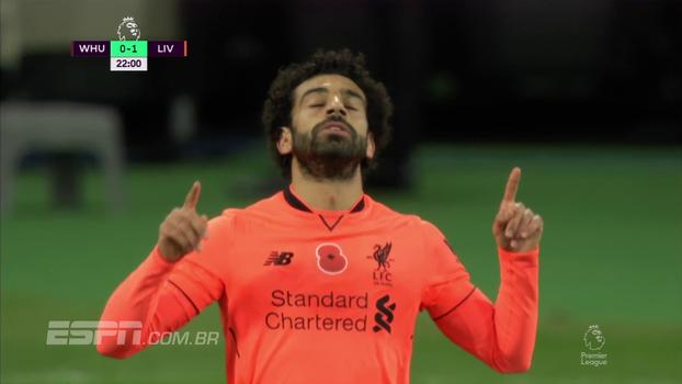Premier League: Melhores momentos de West Ham 1 x 4 Liverpool