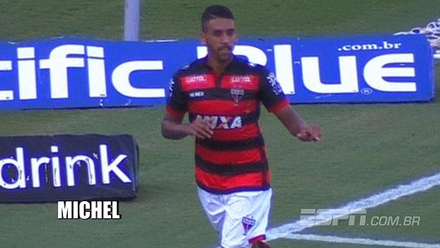 Veja lances de Michel, volante do Atlético-GO que está a caminho do Grêmio