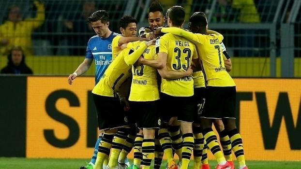 Bundesliga: Gols de Borussia Dortmund 3 x 0 Hamburgo